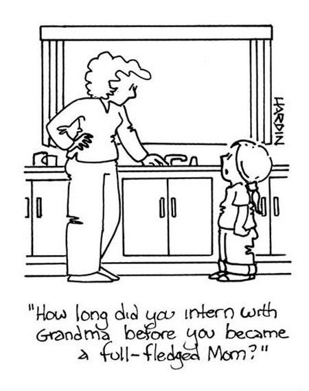Internship For Being A Mom Quotes For Kids Cartoon Mom Funny Times