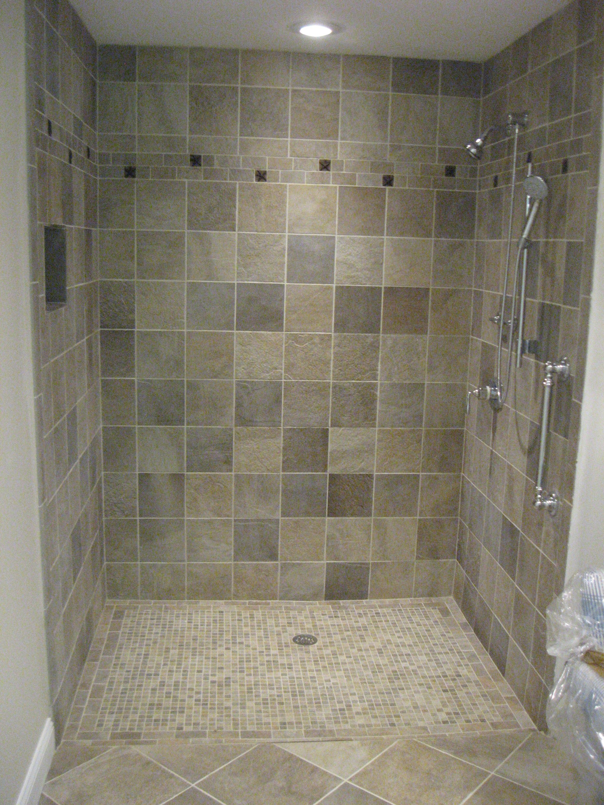 bathroom faucet mosaic tile flooring ideas marble tiled