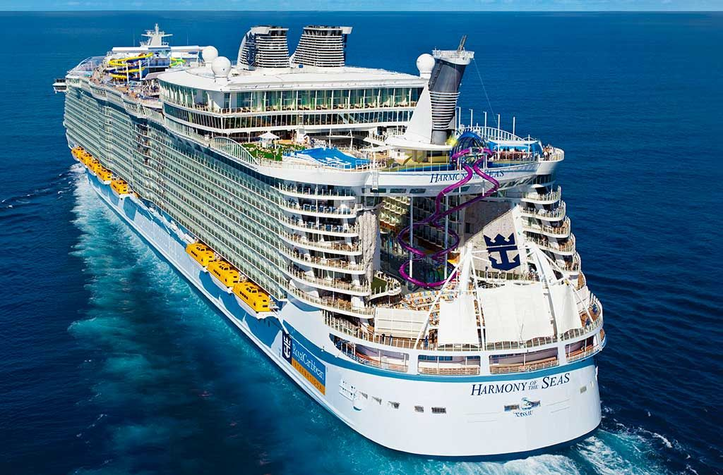 Biggest Cruise Ship In The World 2020 Biggest Cruise Ship Cruise Ship Royal Caribbean Cruise Ship