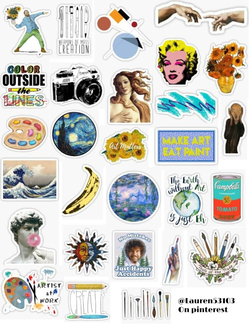 Photo of Art Sticker Pack
