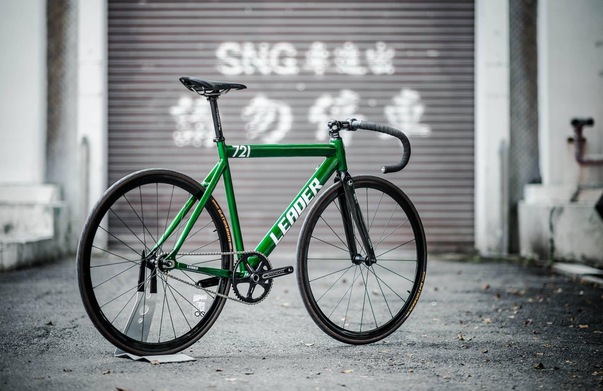 Leader 721 Fixie / Singlespeed   - Bici -   Pinterest   Rennrad und ...