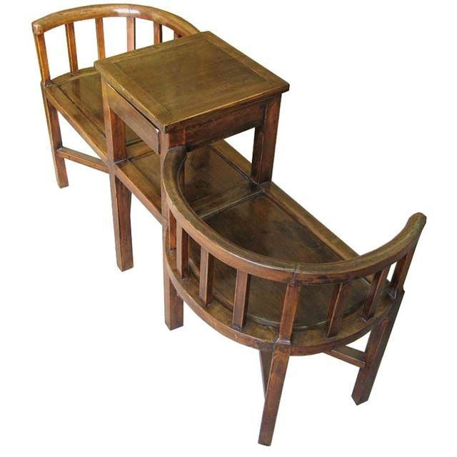 Image Of Tete A Tete Courting Chair Chair Furniture Chair Arm
