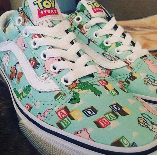 d61a989e0c Sneak Peak At The New Toy Story Vans Collection! Disney Vans