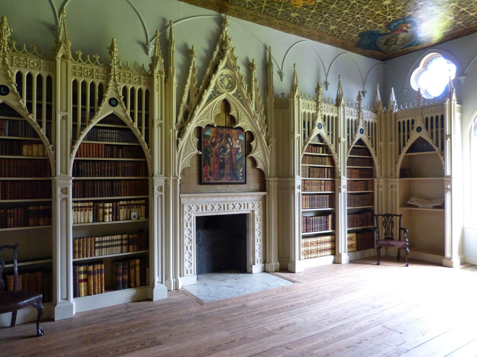 Strawberry Hill Horace Walpole S Gothic Castle A Regency History Guide Strawberry Hill House Gothic House Gothic Style Architecture