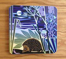 Jenny Tylden Wright Designer Tea Pot Stand - Hedgehog - Melamine Trivet Art Gift
