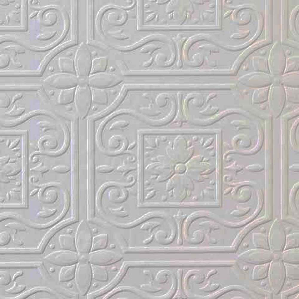 Faux tin ceiling tile textured paintable wallpaper 148 59001 faux tin ceiling tile textured paintable wallpaper 148 59001 double roll doublecrazyfo Choice Image