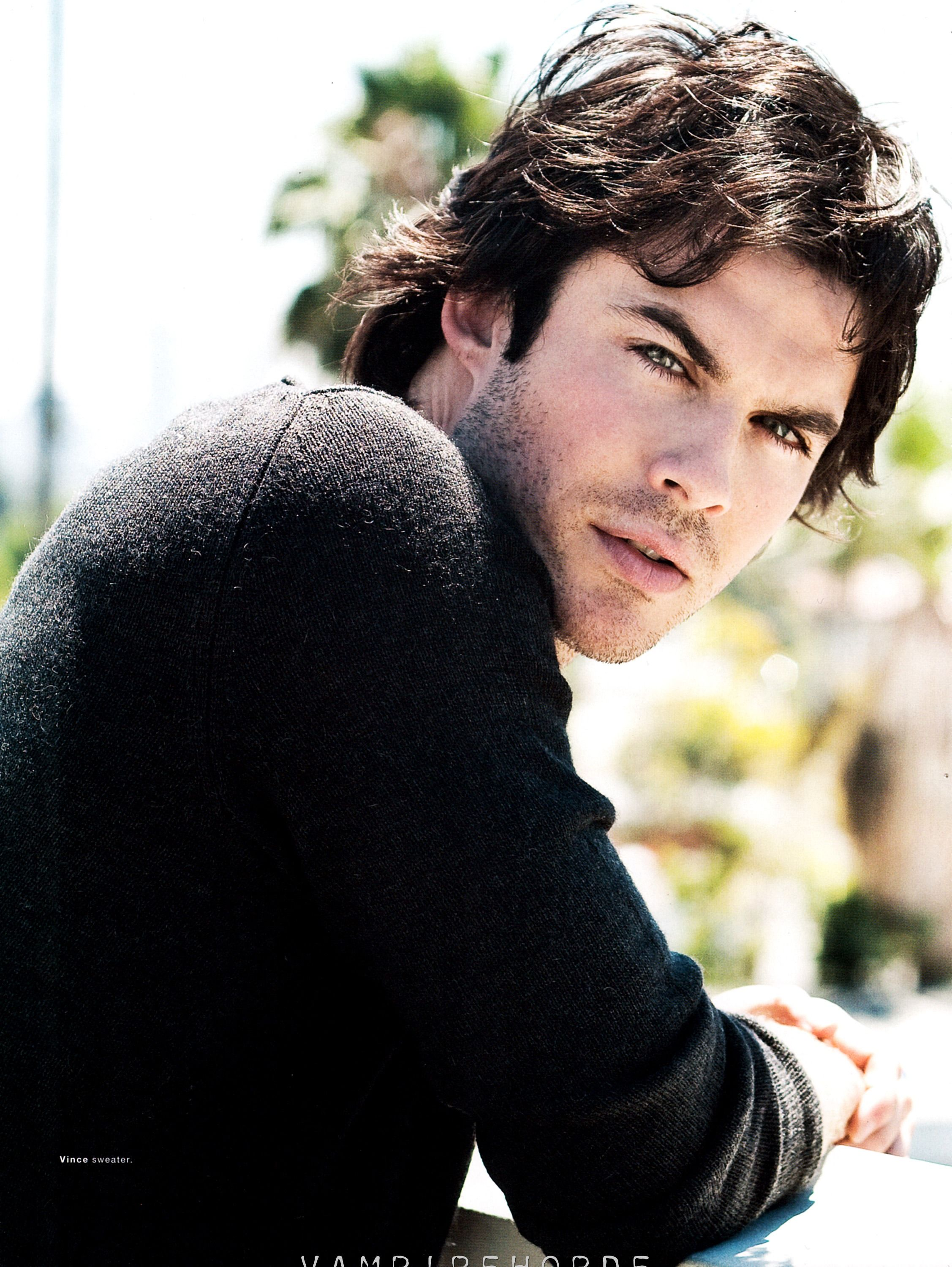 Can't have too many Ian Sommerhalder pics! ;) Vampire