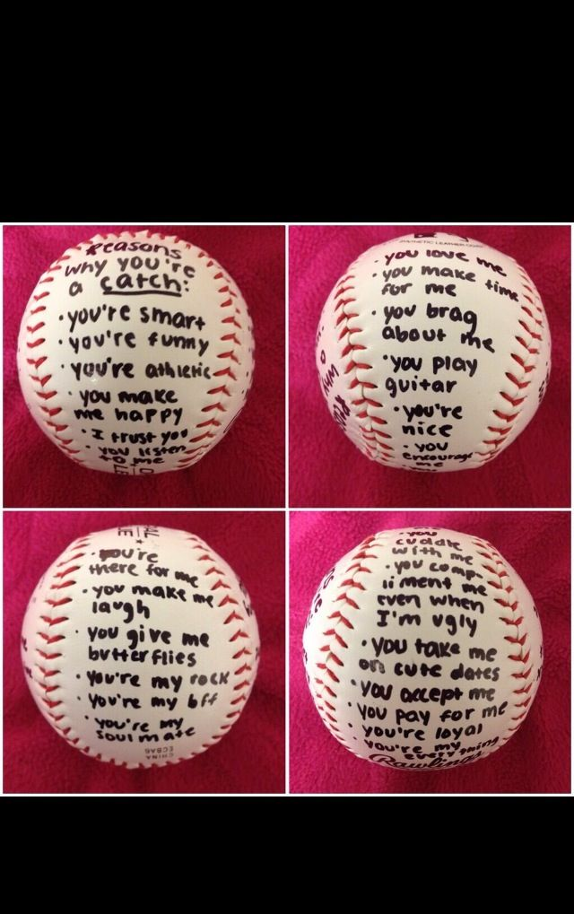 Gift Idea Baseball Boyfriend