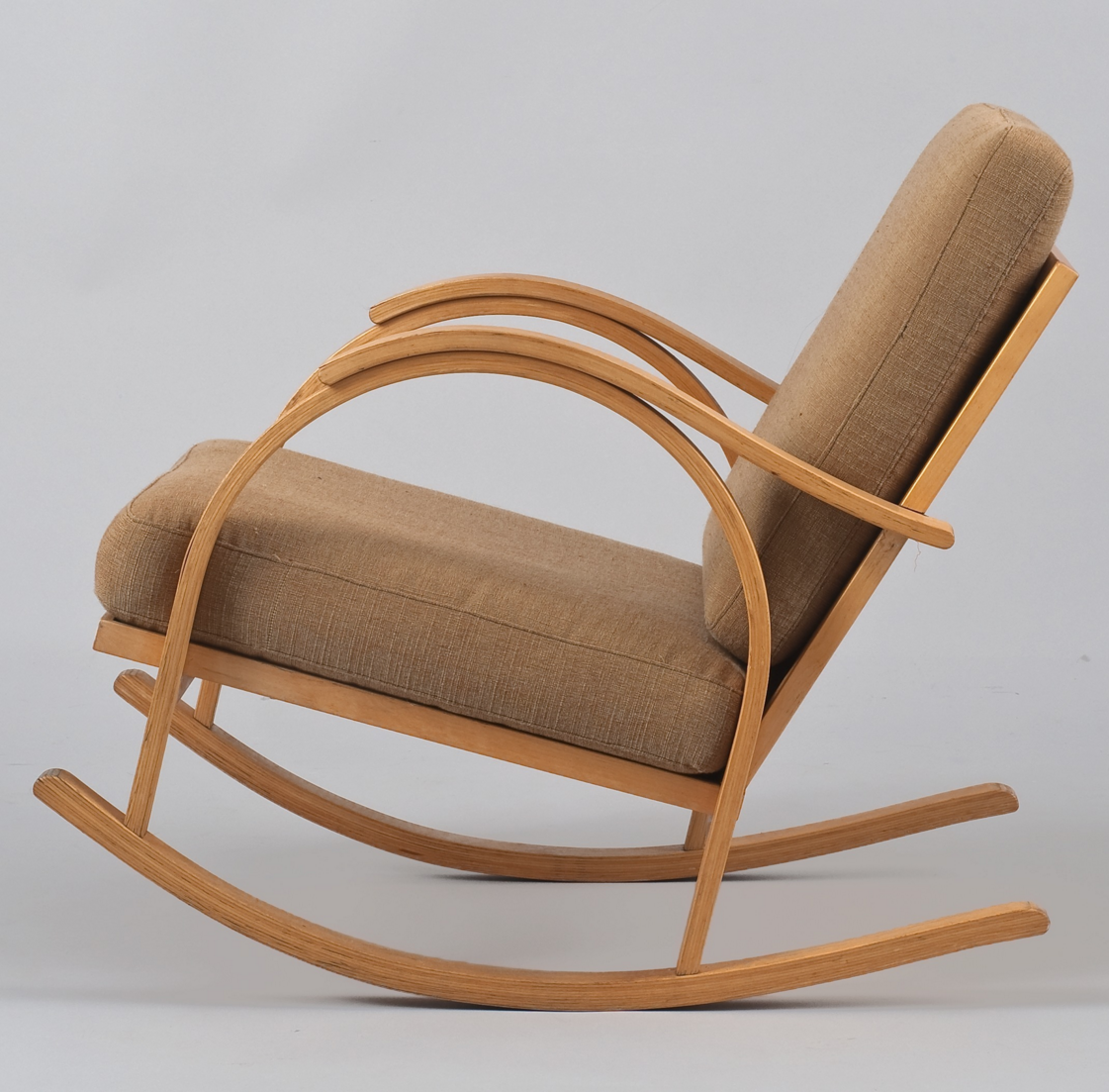 Maija Heikinheimo Birch Rocking Chair For Asko 1932 Ahsap Isleri