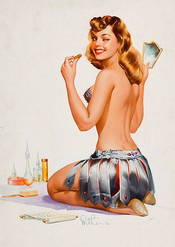Image result for pin up art