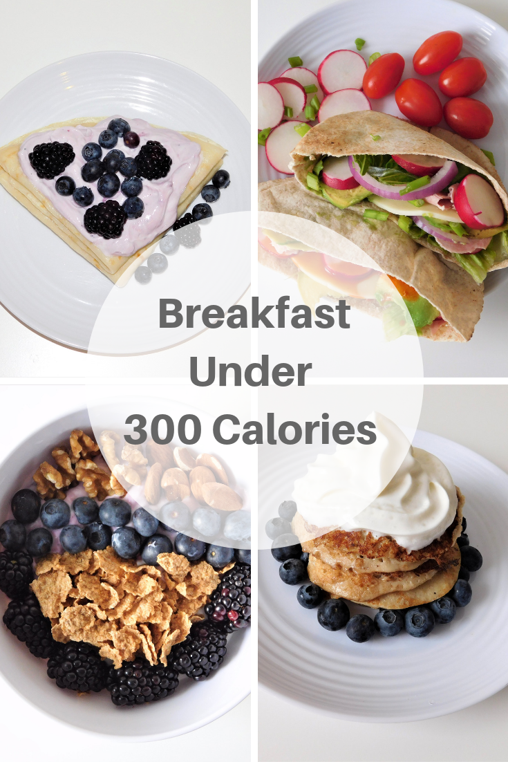 Breakfast Ideas  Under 300 Calories  #300caloriemeals