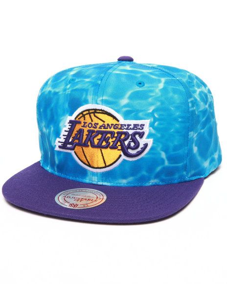 8334d0958dc Mitchell   Ness - Los Angeles Lakers Camo Snapback Hat