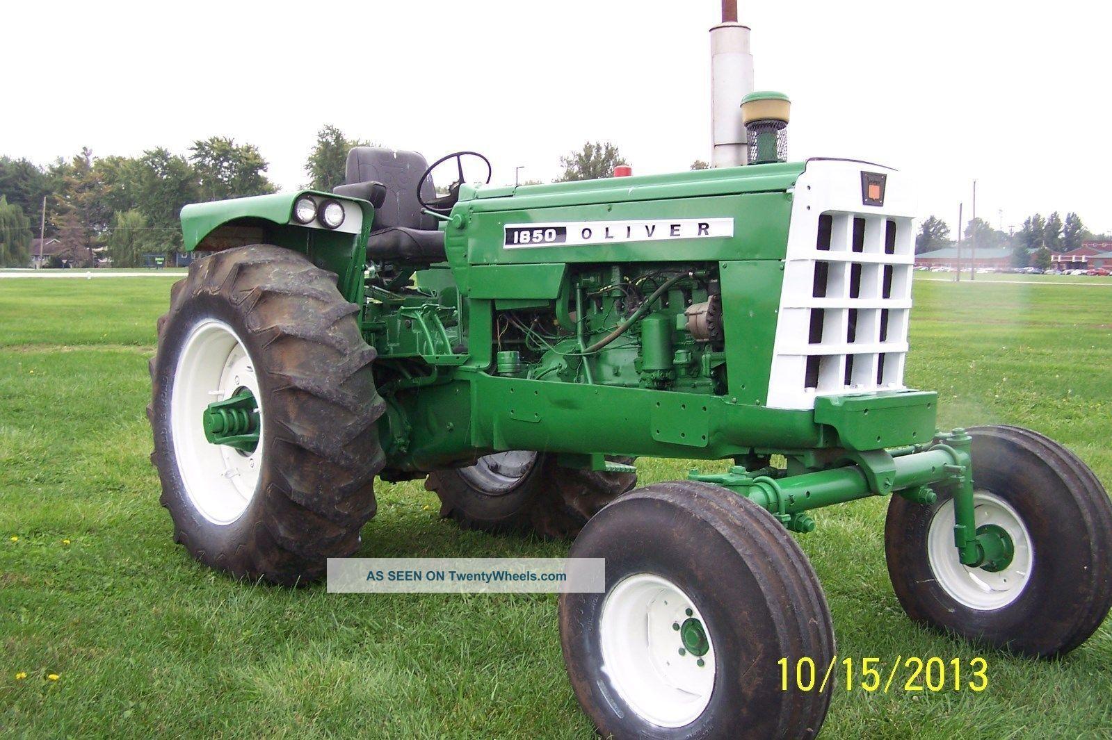 Oliver 1850 tractor tractors photo tractors pinterest - Craigslist farm and garden minneapolis ...
