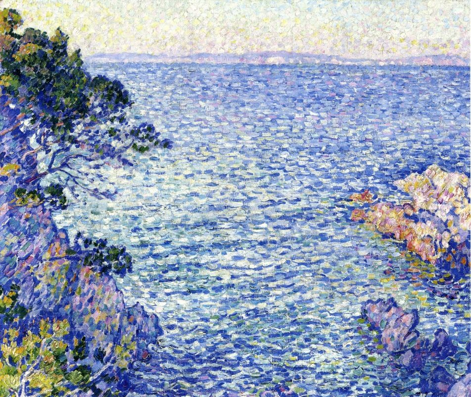 The Athenaeum - La Pointe du Rossignol, i, 1904 (Theo van Rysselberghe - )