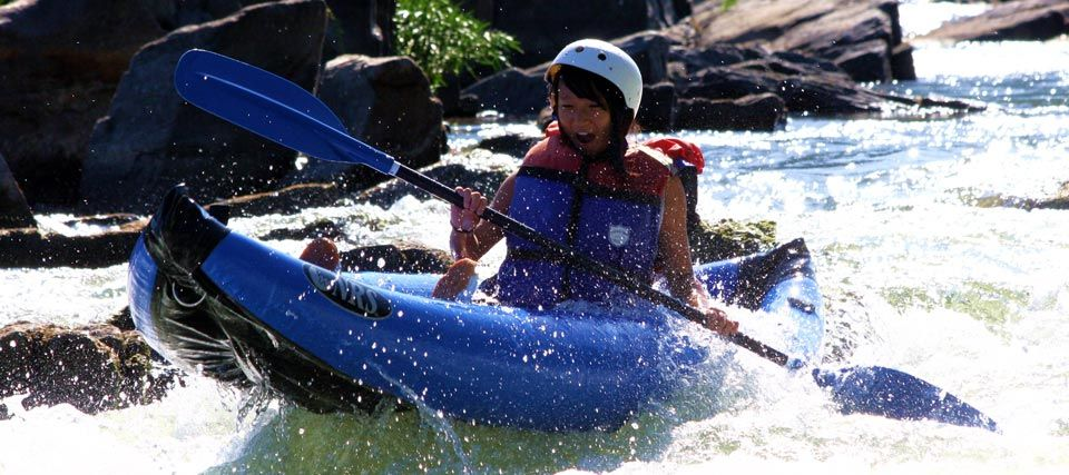 Harpers Ferry Adventure Center Whitewater Kayaks Duckies White Water Rafting Kayaking River Kayaking