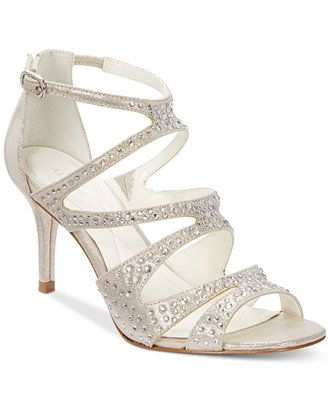 Alfani Women's Capucen Caged Evening Pumps, Only at Macy's - Evening & Bridal - Shoes - Macy's