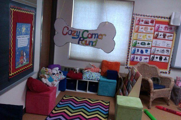 Image result for a cozy corner in a preschool classroom