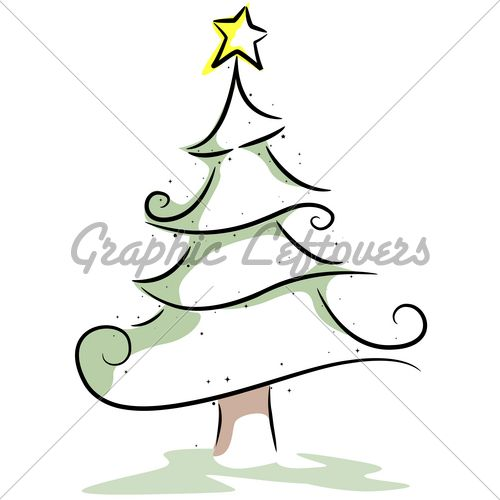 Christmas Tree Design Gl Stock Images Christmas Tree Drawing Christmas Drawing Tree Drawing Simple