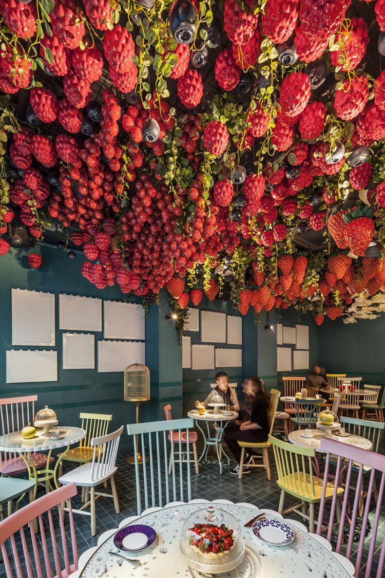La Dolca Of Tickets Restaurant By El Equipo Creativo Barcelona Urdesignmag Shop Interior Design Vintage Interior Cafe Cafe Interior Design