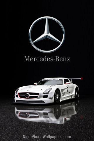 Mercedes Benz Sls Amg Gt3 Hd Iphone Mercedes Benz Mercedes