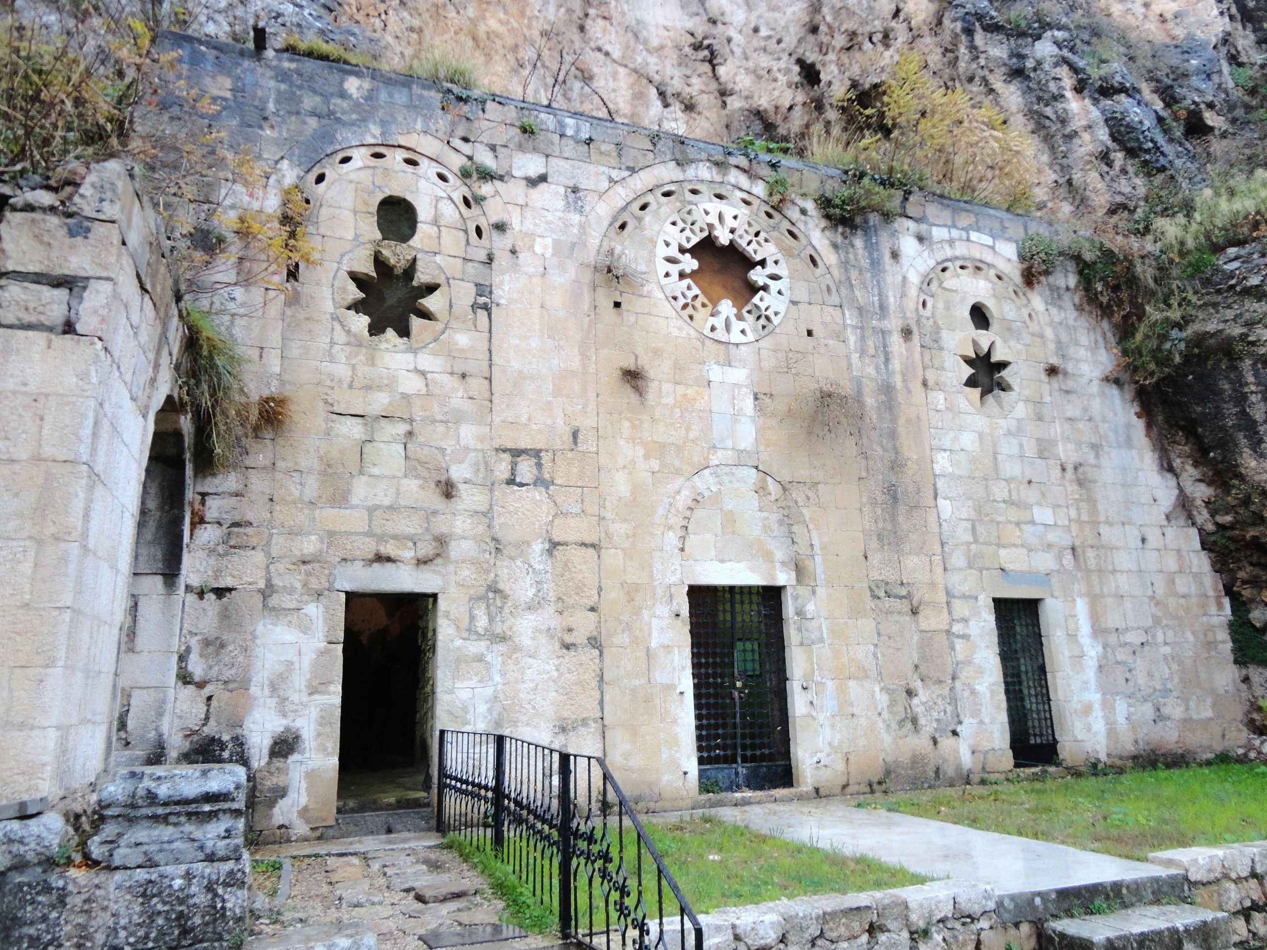 The facade of the Apostle Paul's church in Antioch