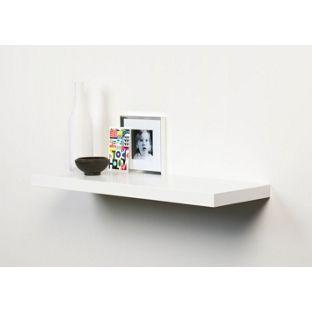 Home of Style Floating Shelf - White - 60X25cm from Homebase.co.uk