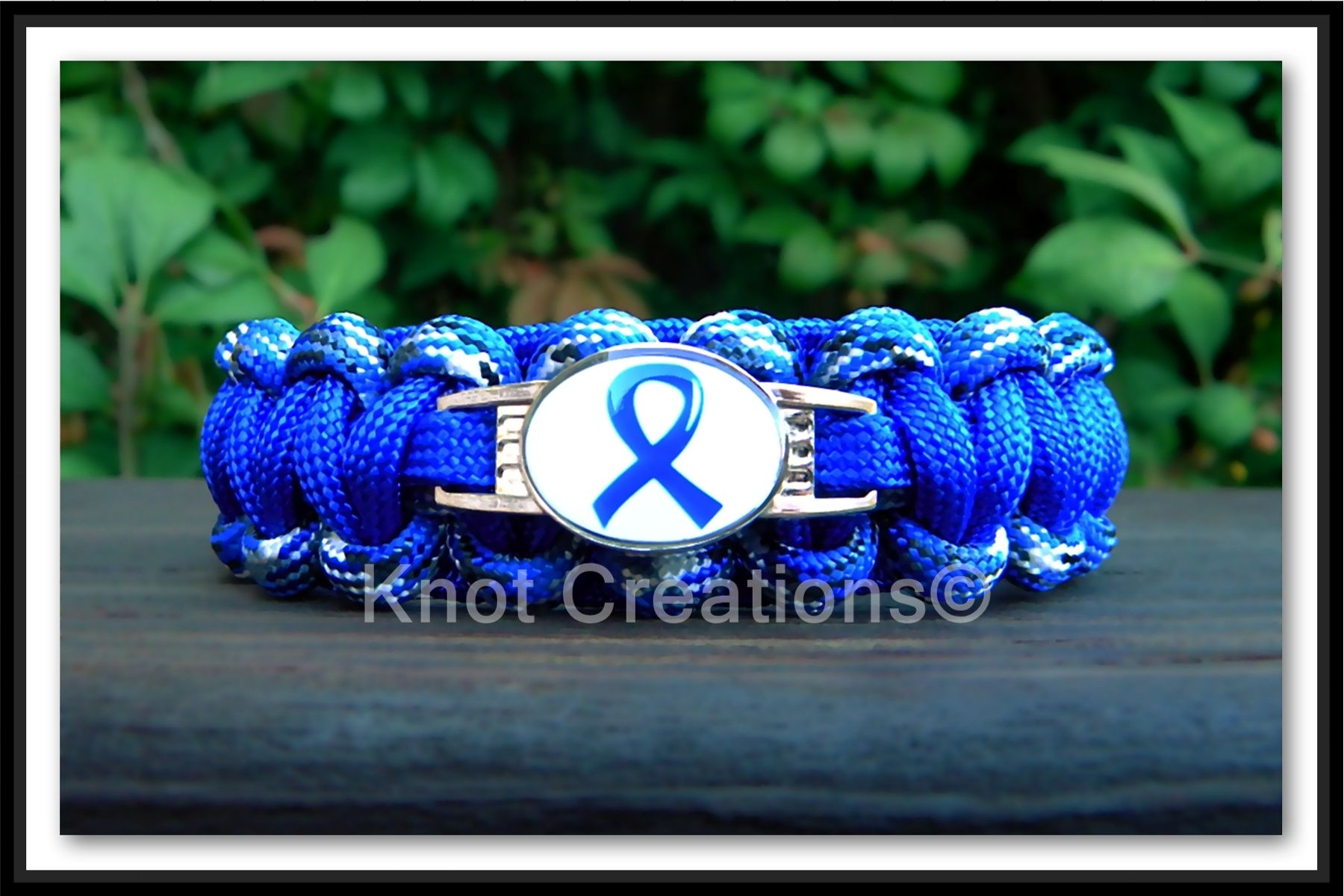 pin silver bowel with cancer colon eye awareness dark beads tibetan blue cat bracelet