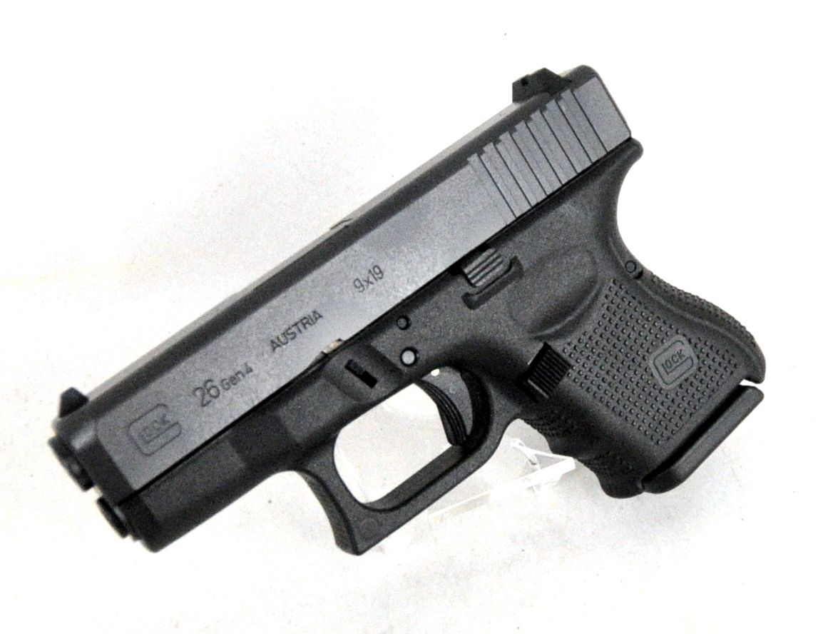 Glock 26 Gen 4 9mm. Known as the \
