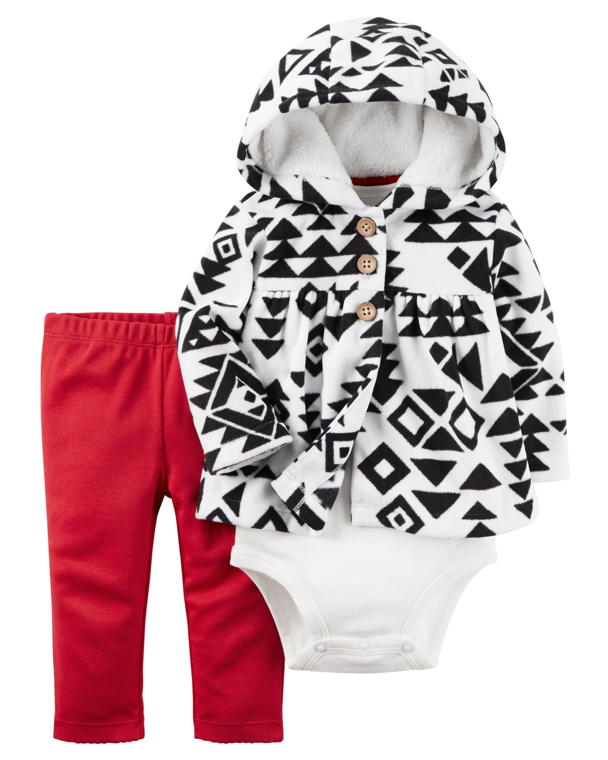 ac18b624c Baby Girl 3-Piece Little Jacket Set