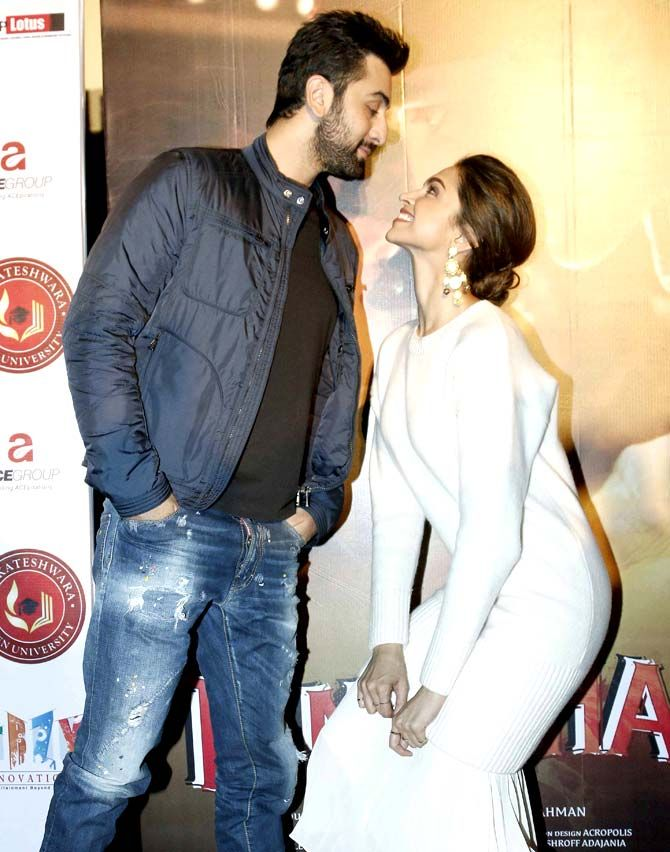 Ranbir Who Dated Deepika For A Year Shares An Amicable Relationship With The Actress Post Their Deepika Padukone Ranbir Kapoor Ranbir Kapoor Deepika Padukone
