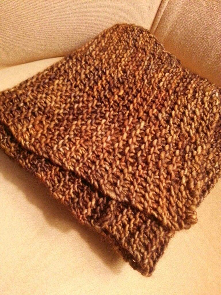 Natalie's 90 sequence scarf, malabrigo mecha Peruvian wool