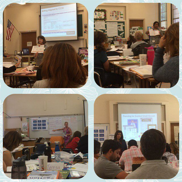 """""""A busy month in Los Angeles training more than 12,000 educators in Benchmark Advance!"""" - Barbara Andrews. We hope everyone enjoyed their training! #benchmarkadvance #training #education #teachers"""