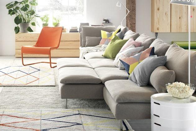 Canape Soderhamn D Ikea Woonkamer Inspiratie Ideeen Voor Een