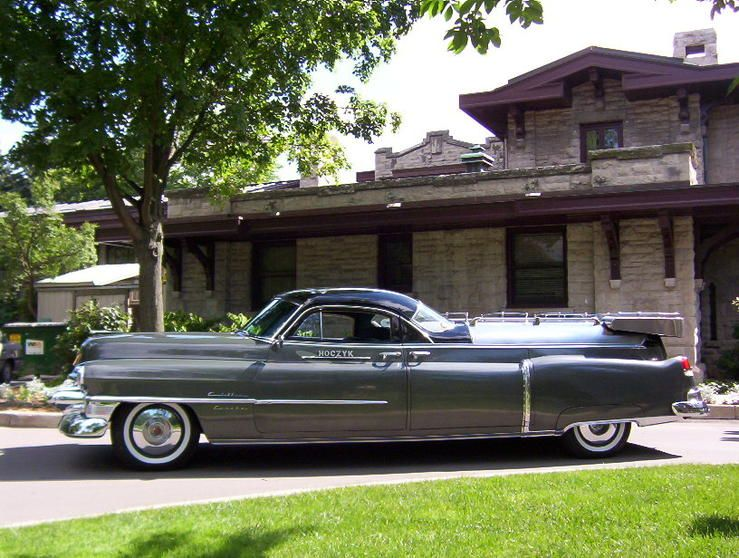 1953 Cadillac Coupe De Fleur Combination Hearse Flower Car By