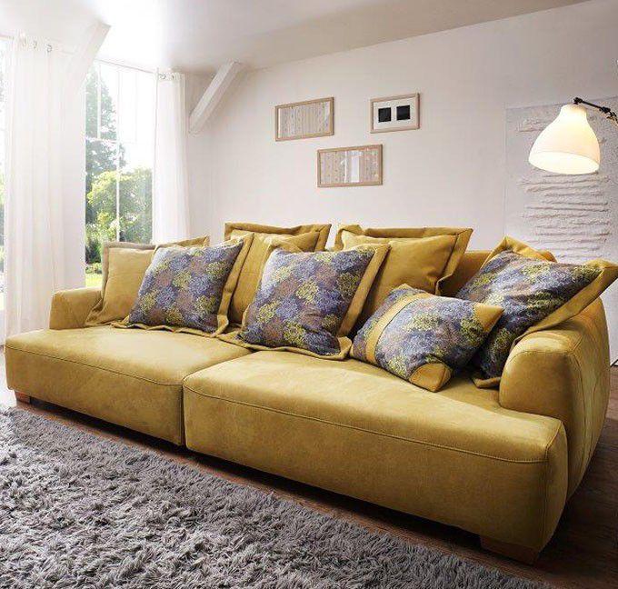 groß, größer Big Sofas - entdecke moderne Sofas in XXL #MoebelLETZ - big sofa oder wohnlandschaft