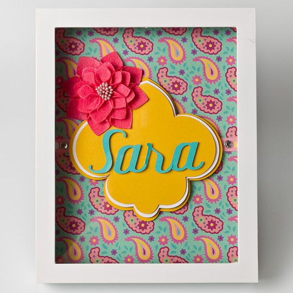 Bring smiles to someones face with this personalized paper art! This ...