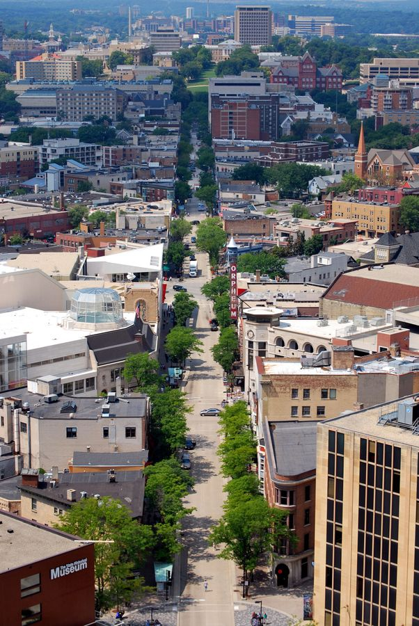 Have A Day To Drive Down To Madison Visit State Street Walk