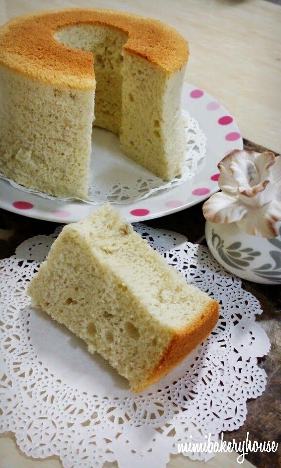 Banana Chiffon Cake Rice Cooker Sweet Cakes Rice