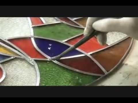 T cnicas de ilustraci n 17 pintura de vitral cap 1 - Como patinar un mueble ...