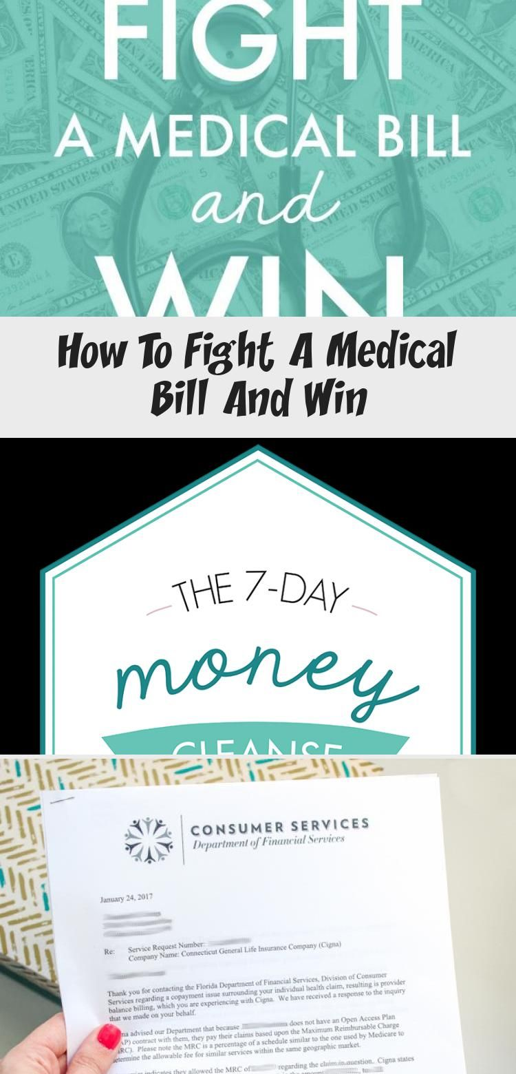 How To Fight A Medical Bill And Win In 2020 Medical Billing