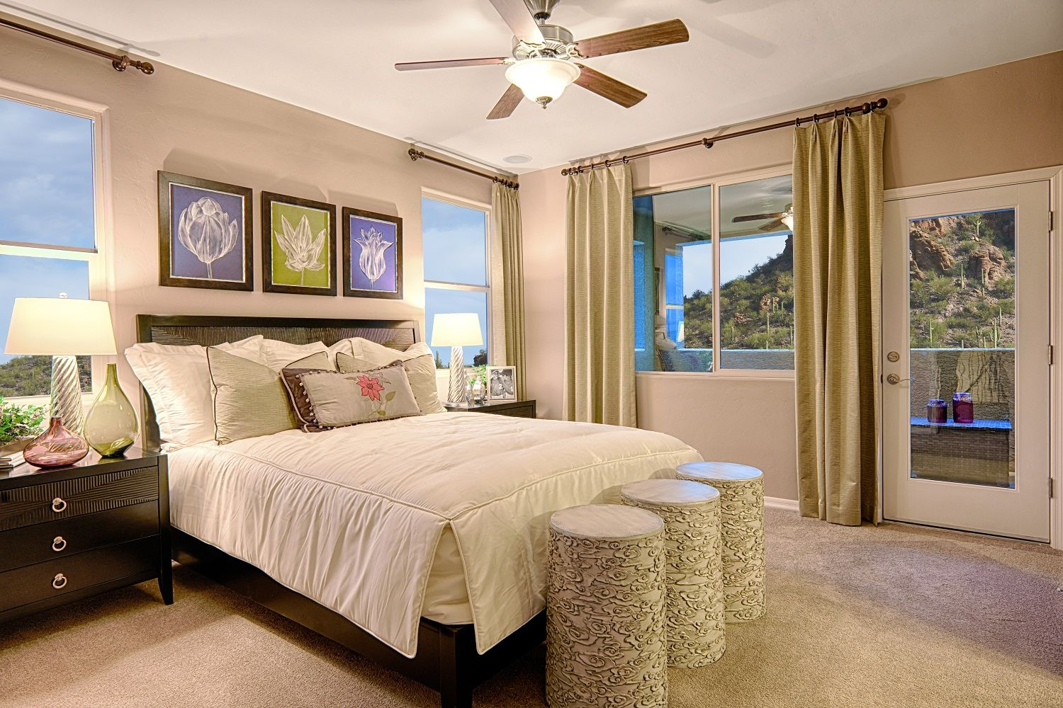 Best Inviting Master Bedroom With Balcony Brittney Model 400 x 300