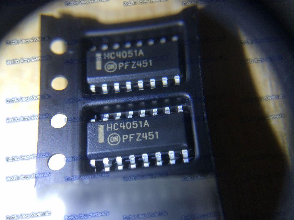 10PCS/LOT MC74HC4051ADR2 MC74HC4051AD 74HC4051 HC4051A SOP-16 Analog
