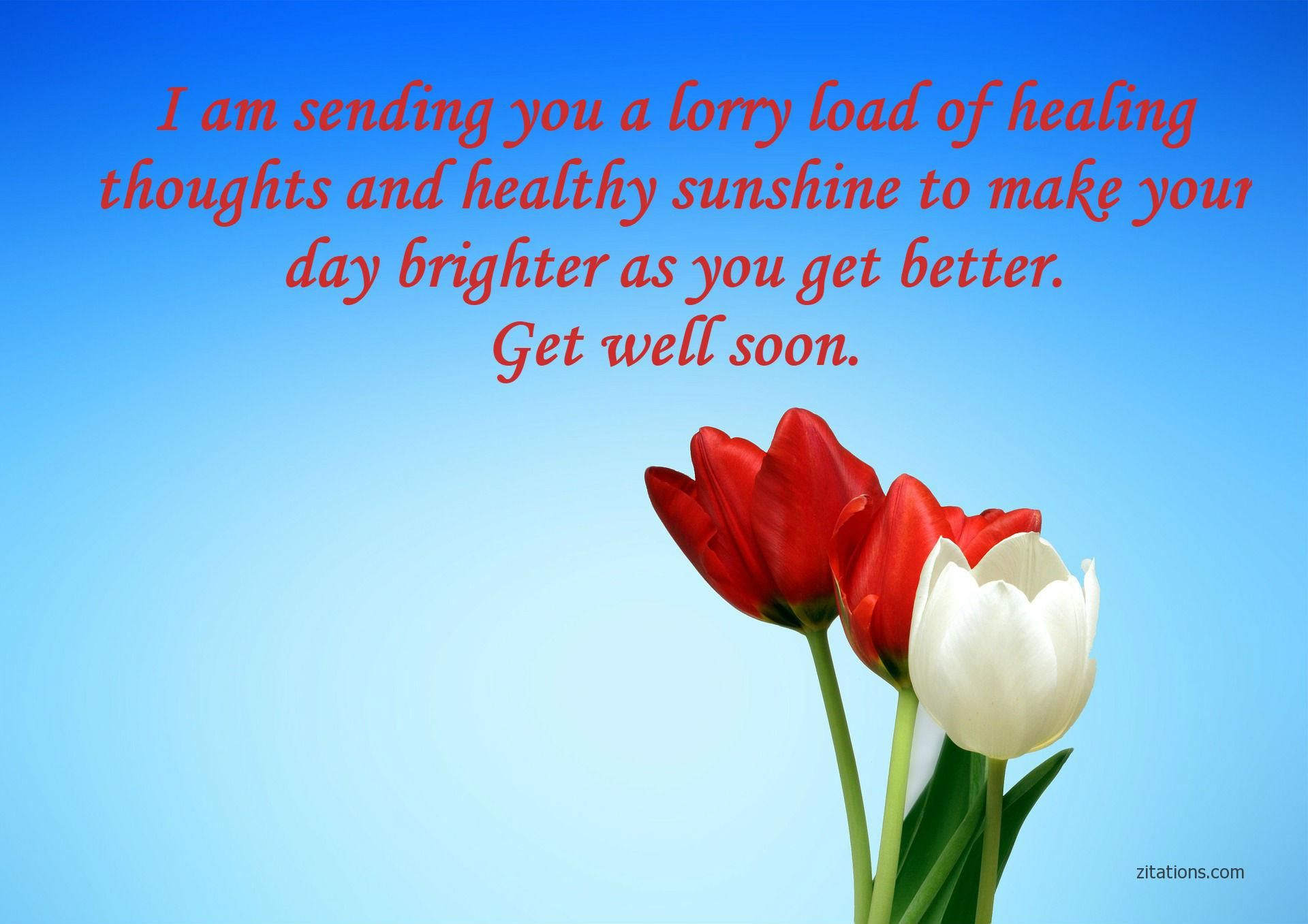 10 Speedy Recovery Wishes For Healing And Comfort Love Message