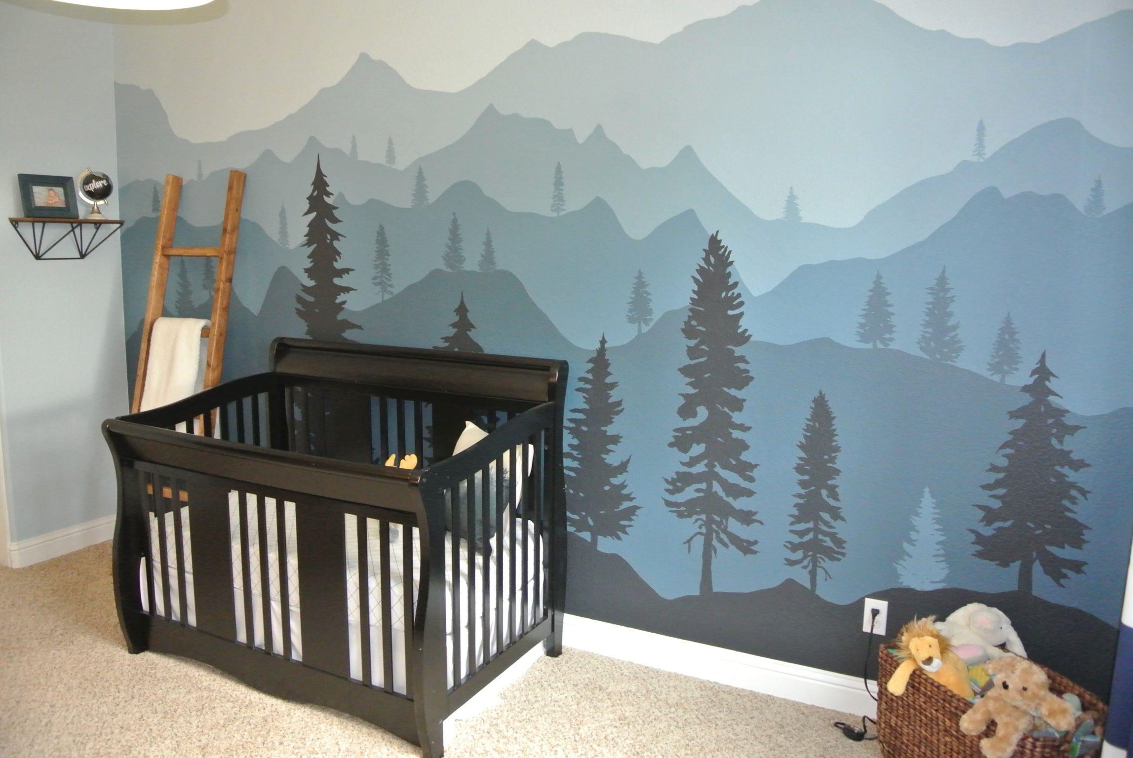 Maddox's Mountain Nursery Mountain nursery, Boy room