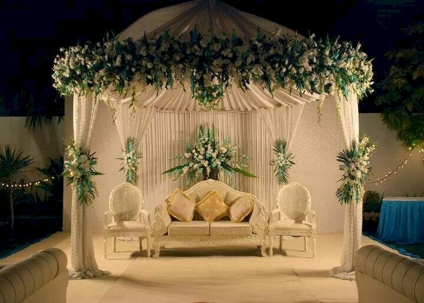 Wedding decorations backdrop  Outdoor Wedding Decoration Ideas  jihanshanum PARTY IDEAS   PARTY