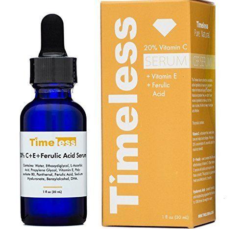 Ferulic C E Serum Timeless Skin Care Anti Aging Skin Products Organic Skin Care