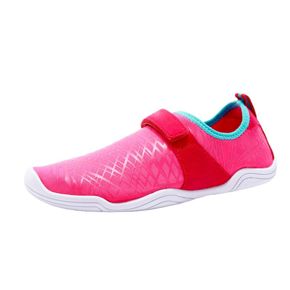AMAWEI Boys Girls Water Shoes for Kids Slip-on Quick Dry Aqua Athletic Sneakers Swim Beach Shoes