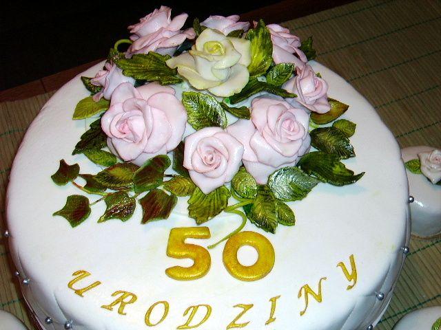 Tort Na 50 Urodziny Cake Desserts Food