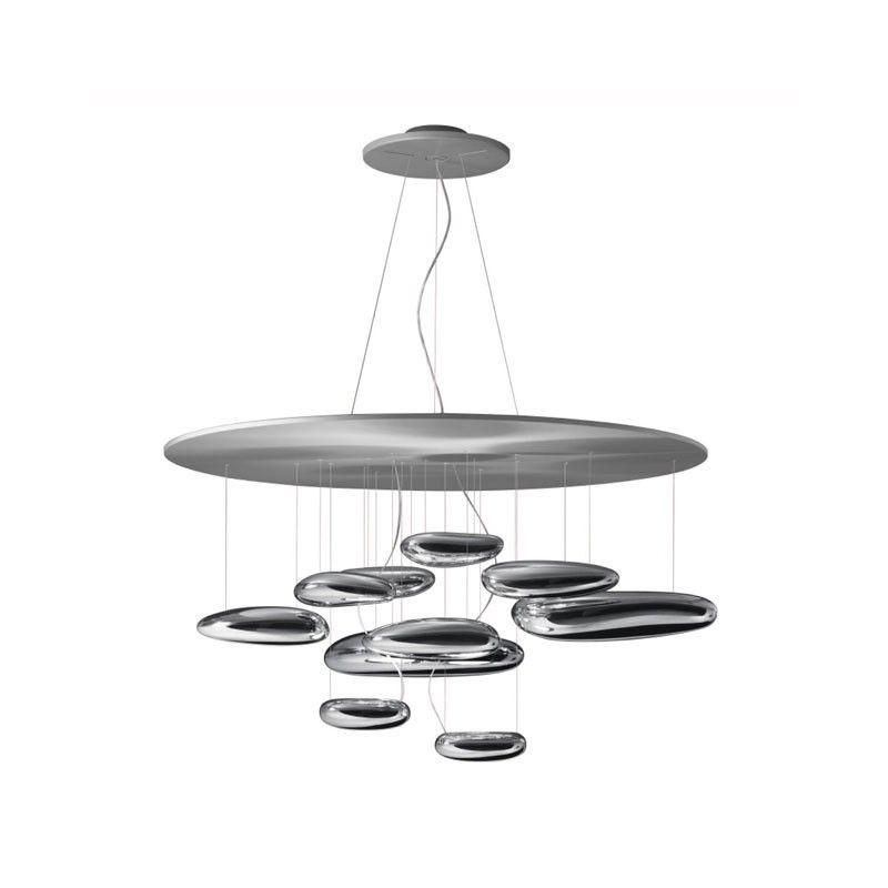 Lampada Artemide Mercury Halo sospensione Alluminio