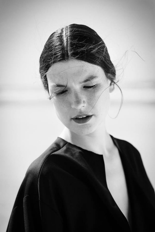 Hair for designer Christina Braun
